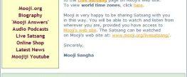 Satsang com Mooji online